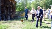 Вот так возрождаются российские деревни.