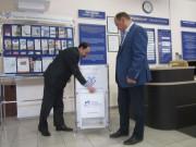 Благовторительный ящик - копилку разместили в ТПП г. Тольятти.