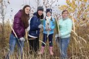 Мы открыли сезон осенних посадок леса!