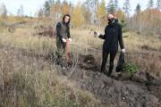 Дорогие Тольяттинцы! Мы с партнерами открыли осенний сезон восстановления леса.